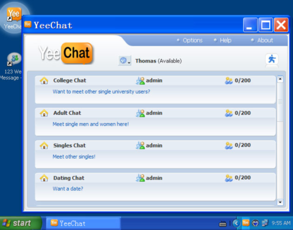 Icq Gay Chat Room