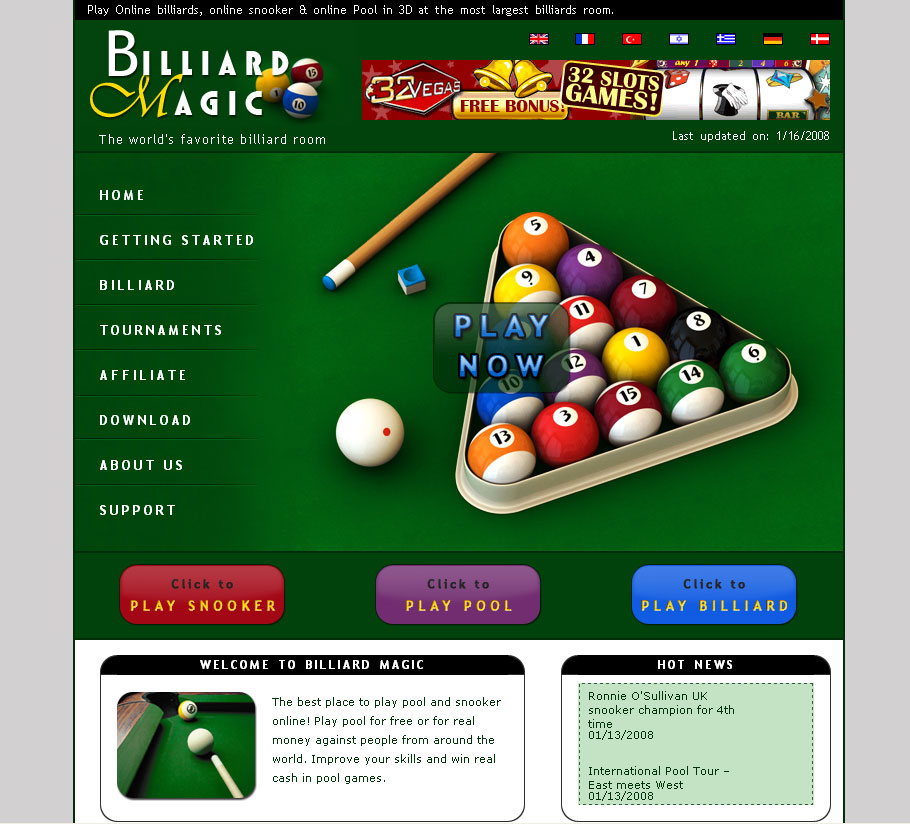 billiard online games