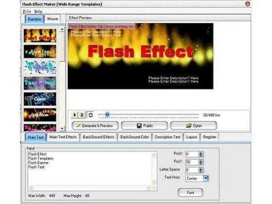 flash software