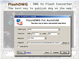 AutoCAD to Flash Converter