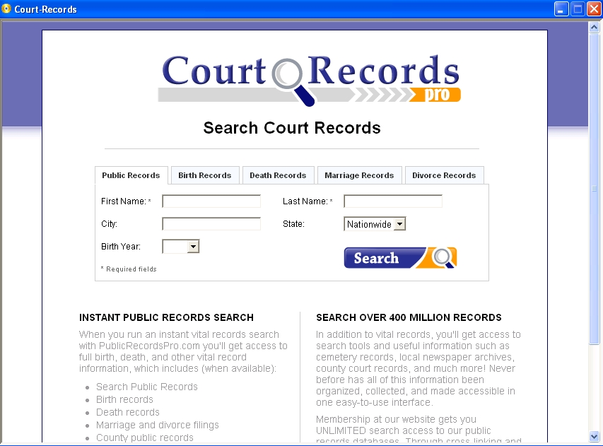 How do you check your court date online