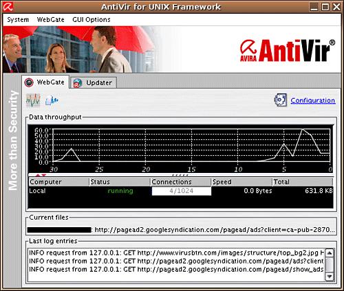 AVIRA Antivirus for Linux Desktop v.1.1.3 ...